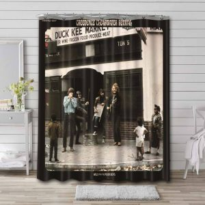 Creedence Clearwater Revival Willy and the Poor Boys Shower Curtain Waterproof Polyester