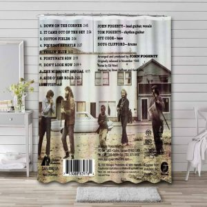 Creedence Clearwater Revival Willy and the Poor Boys Waterproof Bathroom Shower Curtain
