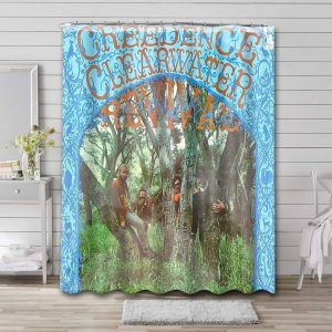 Creedence Clearwater Revival Shower Curtain