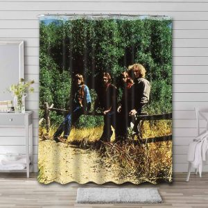 Creedence Clearwater Revival Green River Shower Curtain Waterproof Polyester
