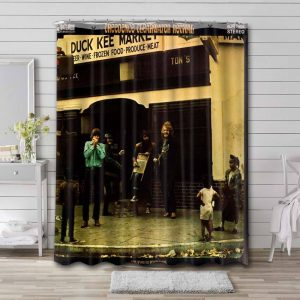 Creedence Clearwater Revival Willy and the Poor Boys Shower Curtain Bathroom Decoration