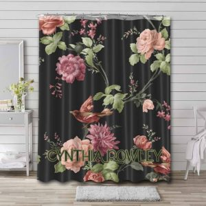 Cynthia Rowley Shower Curtain Waterproof Polyester