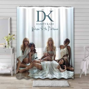 Danity Kane Welcome To The Dollhouse Shower Curtain Bathroom Decoration