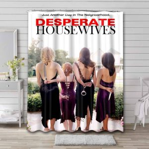 Desperate Housewives TV Series Shower Curtain Waterproof Polyester