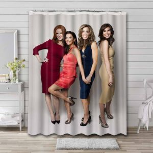 Desperate Housewives Shower Curtain Bathroom Decoration