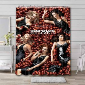 Desperate Housewives Shower Curtain Waterproof Polyester