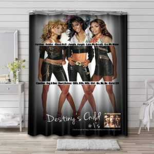 Destiny's Child #1's Shower Curtain Waterproof Polyester