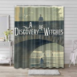 A Discovery of Witches Shower Curtain Waterproof Polyester