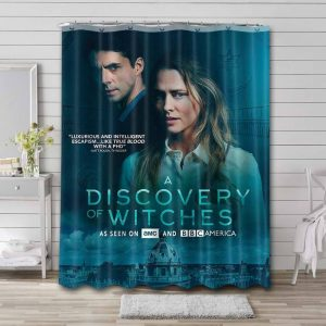 A Discovery of Witches Bathroom Shower Curtain Waterproof