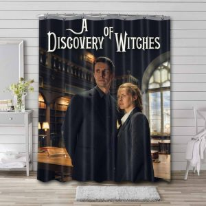 A Discovery of Witches Waterproof Shower Curtain Bathroom