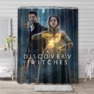 A Discovery of Witches Series Shower Curtain Waterproof Polyester