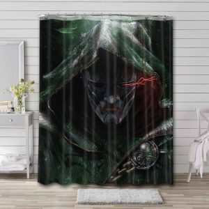 Doctor Doom Face Shower Curtain Waterproof Polyester