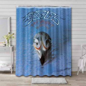 Eagles Band Their Greatest Hits Waterproof Curtain Bathroom Shower
