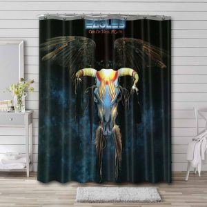 Eagles Band One of These Nights Shower Curtain Waterproof Polyester
