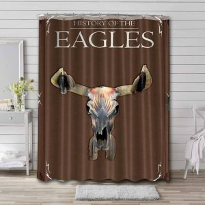 Eagles Band Shower Curtain