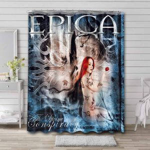 Epica The Divine Conspiracy Shower Curtain Bathroom Waterproof