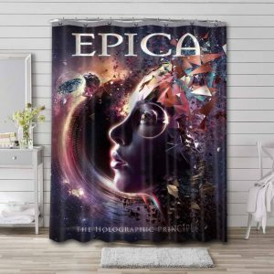 Epica The Holographic Principle Bathroom Shower Curtain Waterproof
