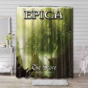 Epica The Score – An Epic Journey Waterproof Curtain Bathroom Shower
