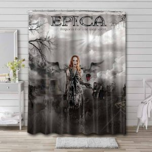 Epica Requiem for the Indifferent Shower Curtain Bathroom Waterproof