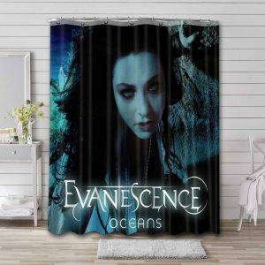 Evanescence Oceans Shower Curtain Waterproof Polyester