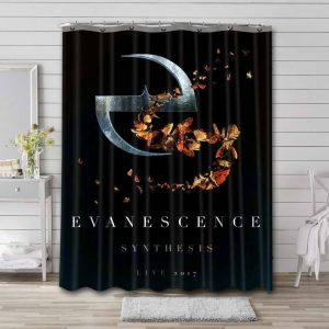 Evanescence Synthesis Waterproof Shower Curtain Bathroom