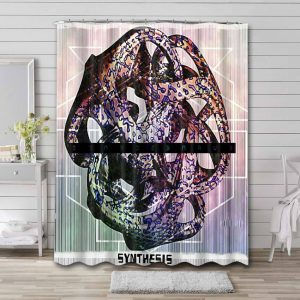 Evanescence Synthesis Shower Curtain Bathroom Waterproof