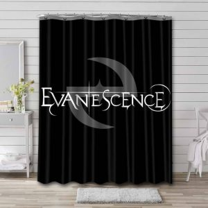 Evanescence Shower Curtain Waterproof Polyester