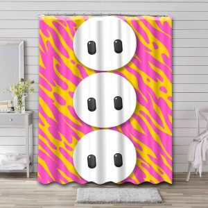 Fall Guys: Ultimate Knockout Phone Bathroom Curtain Shower Waterproof