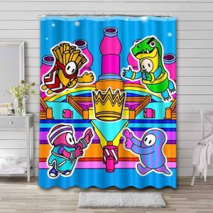 Fall Guys: Ultimate Knockout Phone Waterproof Curtain Bathroom Shower