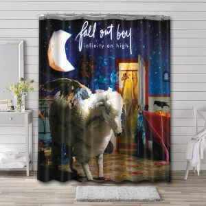 Fall Out Boy Infinity On High Waterproof Bathroom Shower Curtain