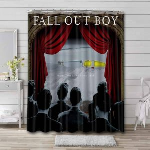 Fall Out Boy From Under The Cork Tree Waterproof Shower Curtain Bathroom