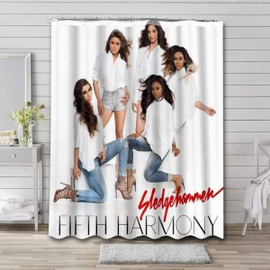 Fifth Harmony Sledgehammer Shower Curtain Waterproof Polyester