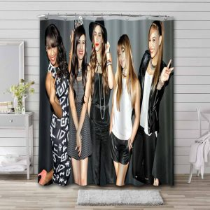 Fifth Harmony Photoshoot Shower Curtain Waterproof Polyester