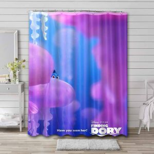 Finding Dory Movie Shower Curtain Waterproof Polyester