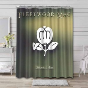 Fleetwood Mac Say You Love Me Shower Curtain Waterproof Polyester
