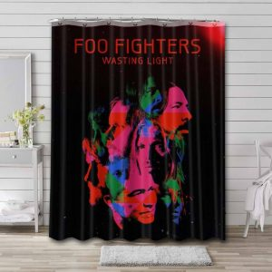 Foo Fighters Shower Curtain