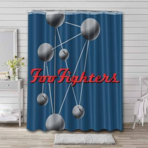 Foo Fighters The Colour and the Shape Bathroom Curtain Shower Waterproof