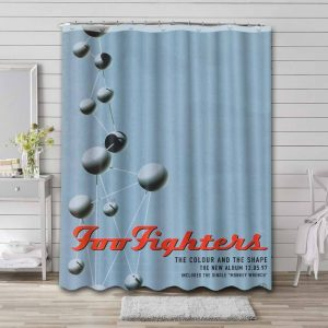 Foo Fighters The Colour and the Shape Shower Curtain Bathroom Decoration