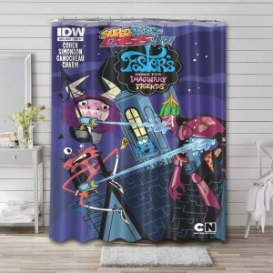 Foster's Home for Imaginary Friends Characters Shower Curtain Waterproof Polyester