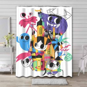 Foster's Home for Imaginary Friends Characters Waterproof Bathroom Shower Curtain