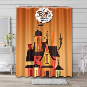 Foster's Home for Imaginary Friends Shower Curtain Bathroom Waterproof