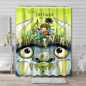 Foster's Home for Imaginary Friends Shower Curtain Bathroom Decoration