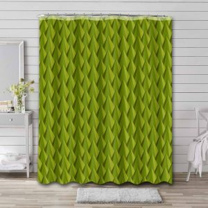 Durian Thorns Shower Curtain Waterproof Polyester