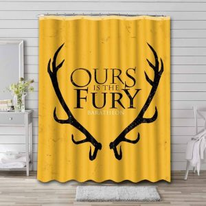 Game of Thrones House Baratheon Shower Curtain Waterproof Polyester