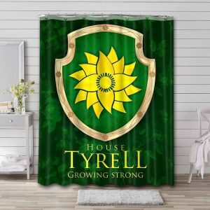 Game of Thrones House Tyrell Shower Curtain Waterproof Polyester