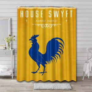 Game of Thrones House Swyft Shower Curtain Bathroom Decoration