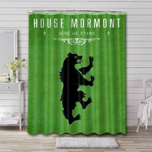 Game of Thrones House Mormont Shower Curtain Waterproof Polyester