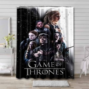 Game of Thrones TV Shows Shower Curtain Bathroom Decoration