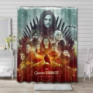 Game of Thrones TV Shows Shower Curtain Waterproof Polyester