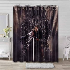 Game of Thrones TV Series Shower Curtain Waterproof Polyester